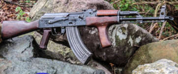 AK47 RIFLE BATTLE PICK UP STYLE ROMANIAN BFPU-FS