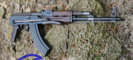 AK47 RIFLE BATTLE PICK UP STYLE ROMANIAN BFPU-UF-NON DONG