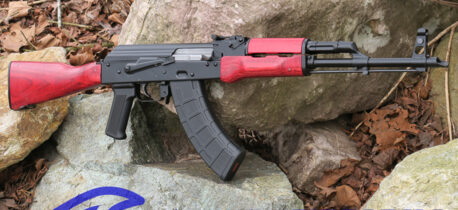 WBP FOX AK47 RIFLE POLISH CZERWONY LAMINATE WOOD