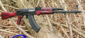 WBP FOX AK47 RIFLE RED CLASSIC